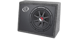 10 Inch Loaded Subwoofer Boxes at HalfPriceCarAudio.com