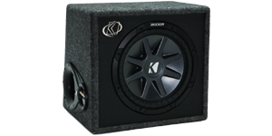 12 Inch Loaded Subwoofer Boxes at HalfPriceCarAudio.com