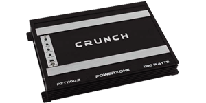 Crunch 2 Channel Amplifiers