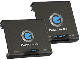 Planet Audio 2-Channel Amplifiers