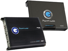 Planet Audio 4-Channel Amplifiers