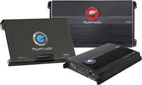 Planet Audio Amplifiers