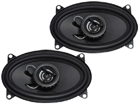 Autotek 4x6-inch car speakers