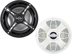 Bazooka Marine Audio Speakers