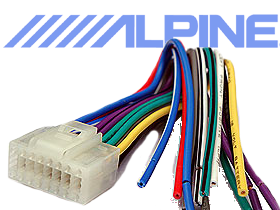 Alpine Wire Harnesses by BestKits at HalfPriceCarAudio.com