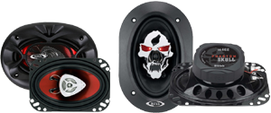 Boss 4x6 Inch Speakers