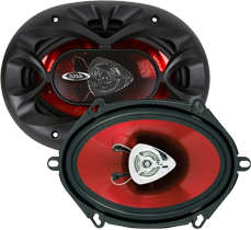 Boss 5x7 - 6x8 Inch Speakers
