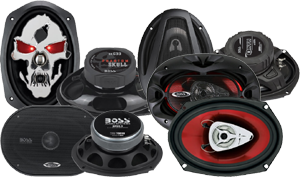 Boss 6x9 Inch Speakers