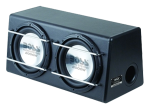 Boss Dual 12 Inch Sub Enclosure Boxes
