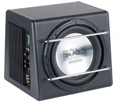 Boss Single 10 Inch Sub Enclosure Boxes
