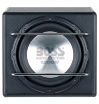 Boss Single 12 Inch Sub Enclosure Boxes