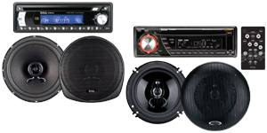 Boss Car Audio CD Player & Speaker Combos