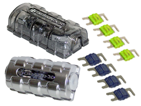 Brand X Fuses & Fuse Holders here at HalfPriceCarAudio.com