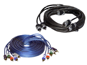 Brand X RCA Cables here at HalfPriceCarAudio.com