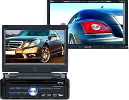 Car Audio In Dash DVD Players with Monitors at HalfPriceCarAudio.com
