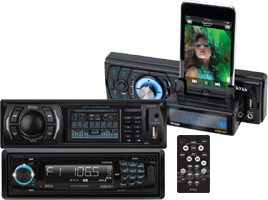 Car Audio In Dash MP3 and AM / FM Players at HalfPriceCarAudio.com