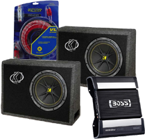 Car Audio Speakers and Amp Combos at HalfPriceCarAudio.com