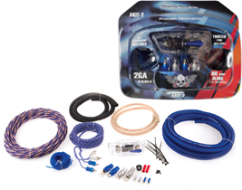 Car Audio Accessories 2 Gauge Amplifier Kits at HalfPriceCarAudio.com