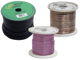 Car Audio Accessories Speaker Wire 20 Gauge at HalfPriceCarAudio.com