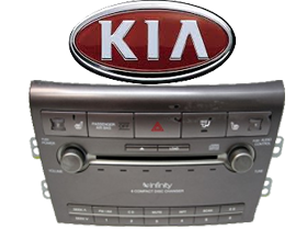 Car Audio OEM Replacement Stereos Kia at HalfPriceCarAudio.com