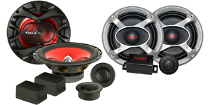 Boss Car Audio Component Speakers