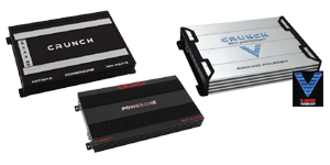 Crunch Car Amplifiers