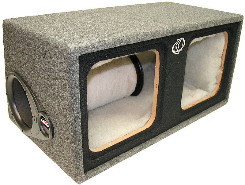 Custom kicker ported dual 12 l3 l5 or l7 subwoofer for L ported sub box design