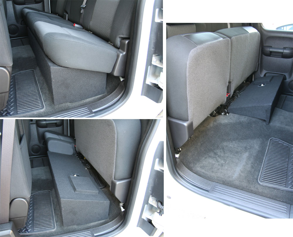 Ported Sub Box Chevrolet SExtended Cab - Sound Off Audio, Inc