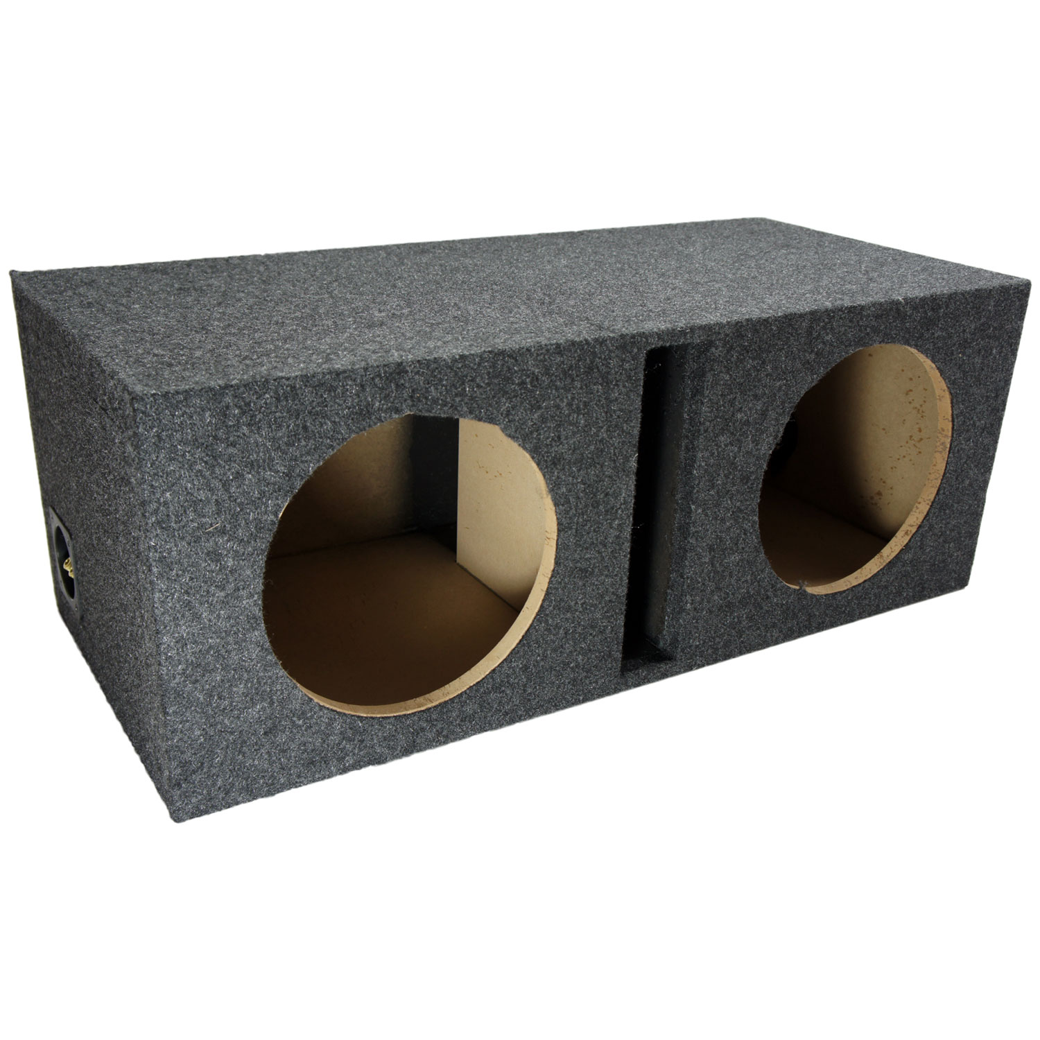 L ported dual subwoofer box design l free engine image for L ported speaker box