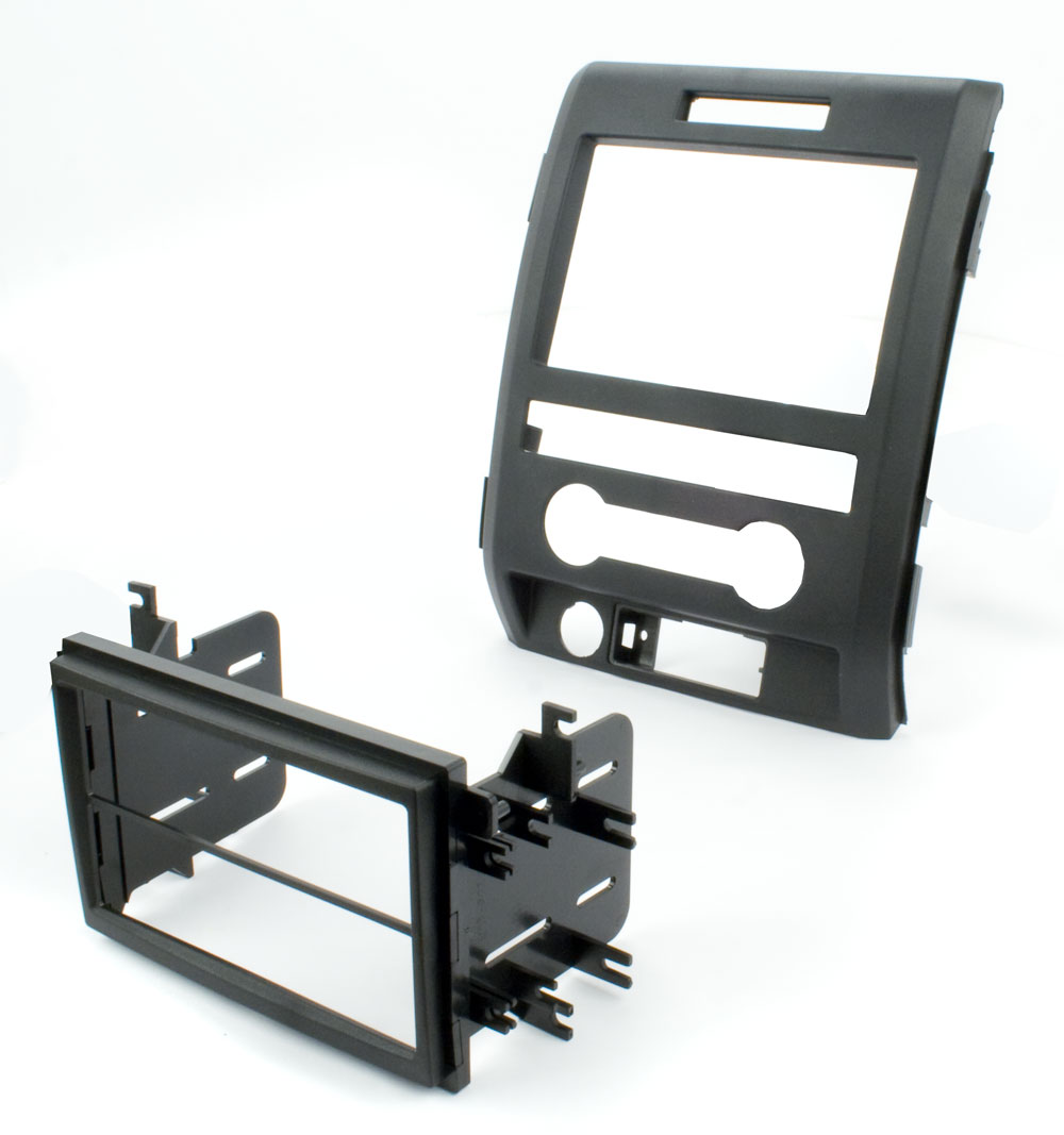 Ford F 150 Stereo Installation http://www.ebay.com/itm/BEST-KITS-BKFMK527-2009-FORD-F-150-DOUBLE-DIN-IN-DASH-CAR-STEREO-INSTALL-KIT-/390612254390