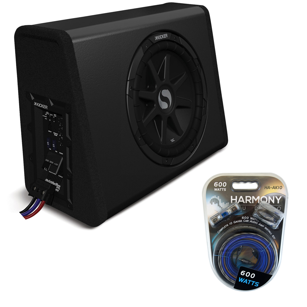 Loaded Sub Boxes HPCA Kicker 67 detailed image 1 kicker pes10c 10\