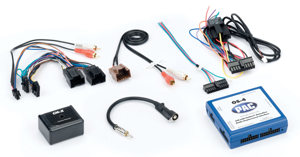 Pac OS 4 OnStar Radio Replacement Interface for Select General Motors