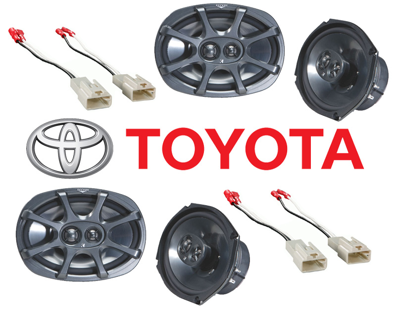 kicker package toyota camry 2002 2006 factory 6x9 coaxial. Black Bedroom Furniture Sets. Home Design Ideas