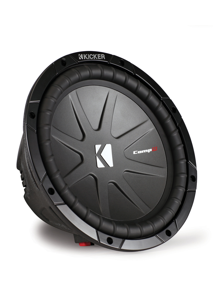 kicker cwr10 10 in 4 ohm dvc compr series subwoofer w