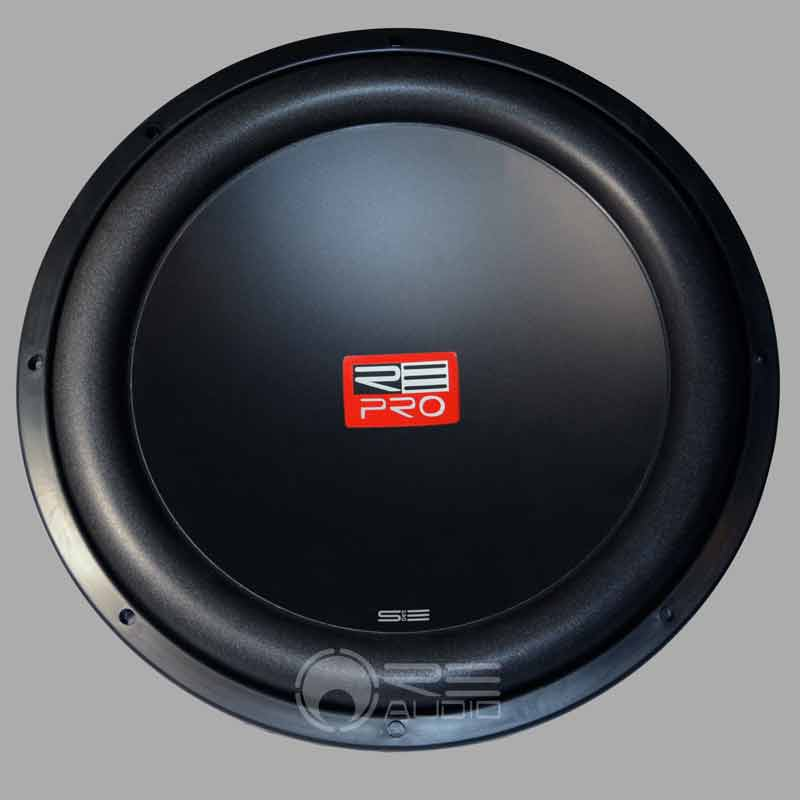 re audio sepro12 12 inch dual 4 ohm subwoofers with wrap around rubber gasket rea13 sepro12 d4