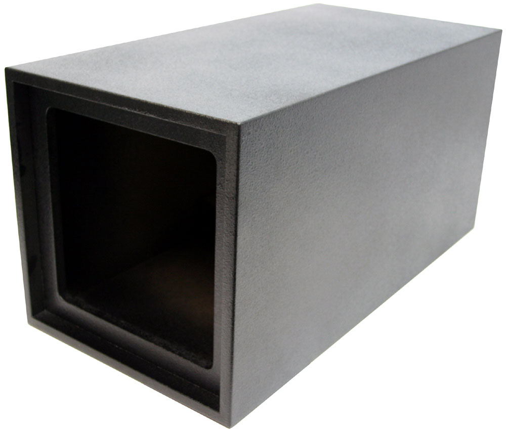 Square enclosure vented 12 kicker solobaric square l3 l5 for L ported speaker box