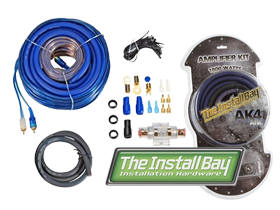 Install Bay 4 Gauge Amp Kits at HalfPriceCarAudio.com