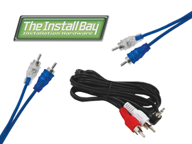 Install Bay RCA Cables at HalfPriceCarAudio.com