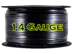 Install Bay 14 Gauge Power Cables