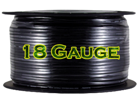 Install Bay 18 Gauge Power Cables
