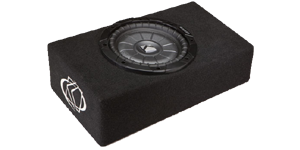 Kicker Single 8 Inch Enclosures at halfpricecaraudio.com