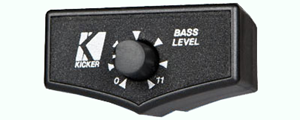 Kicker Amplifier Bass Remote Control