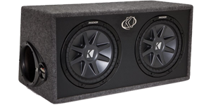 Kicker Dual 10 Inch Enclosures