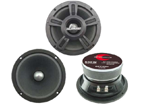 Lanzar Car Speakers Midbass at HalfPriceCarAudio.com
