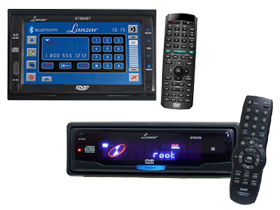 Lanzar Marine In-Dash MP3 DVD & Media Receivers at HalfPriceCarAudio.com