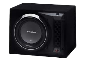 Single 10 Inch Loaded Subwoofer Boxes