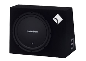 Single 12 Inch Loaded Subwoofer Boxes