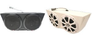 Waves & Wheels Loaded Speaker Pods