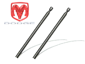 Metra Dodge Power Ram 50 Antenna Mast
