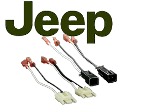 Metra Jeep Wrangler (97-06TJ) Speaker Connectors at HalfPriceCarAudio.com